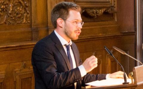 Konrad Gütschow, Debattiertrainer
