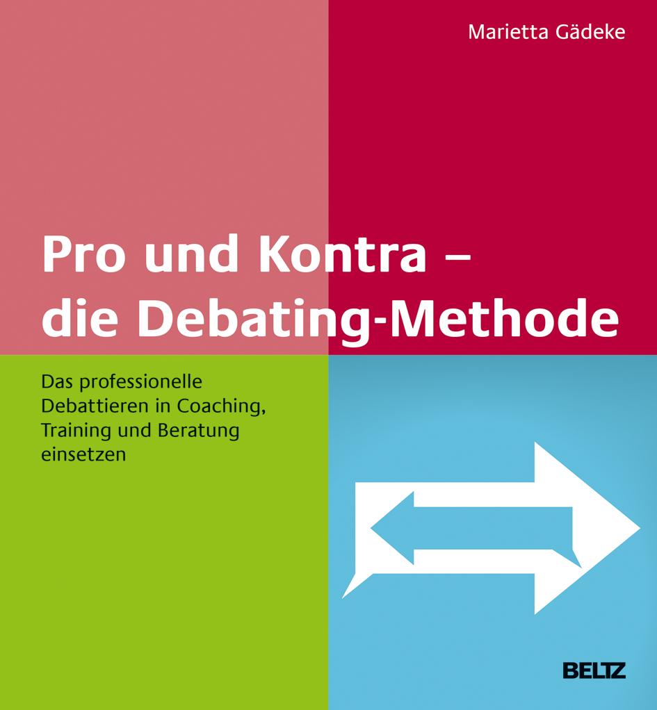 """Cover des Buchs """"Pro und Kontra - die Debating-Methode"""""""